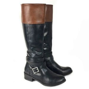 Arizona Jean Company Two Toned Riding Boots
